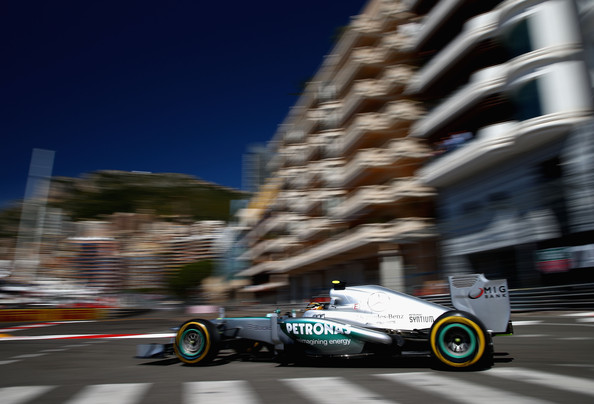 Hamilton getting the job done at Monaco. No salt in the wound but you can't but but notice how poorly McLaren are doing this year.
