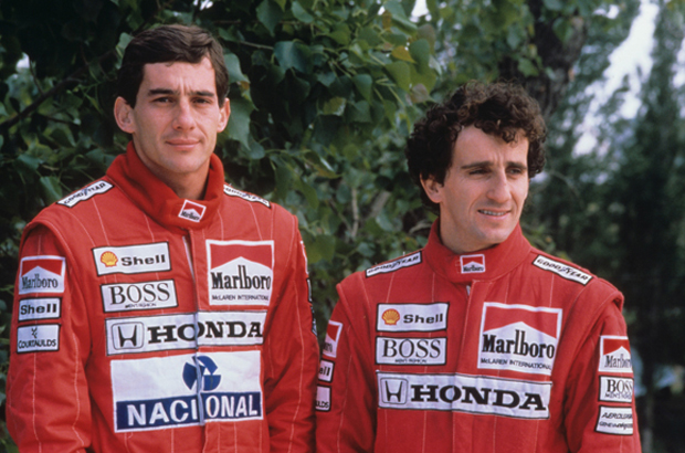 For good or for worse when taking about Senna there is no way not to also talk about Alain Prost. Teammates and enimies they defined an era. Prost is now a board member of the Senna Foundation.