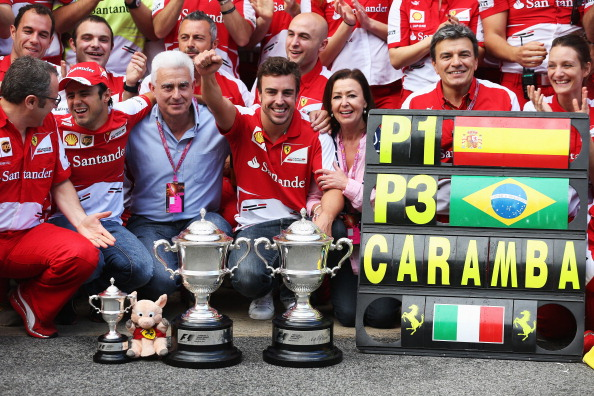 On the other hand the boys over at Ferrari are quite pleased with what Pirelli has done in the off season...