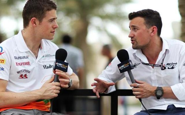 Will Buxton - NBC pitlane reporter on right had many things to say after the spanish GP. I liked them all...