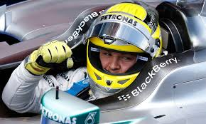 That makes it two poles in two races for Nico Rosberg and doing himself no harm up against Lewis.