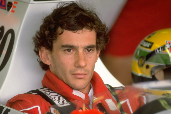 Ayrton Senna was like no one before him in F1. a very spiritual man, he was cut from a different cloth than most drivers.