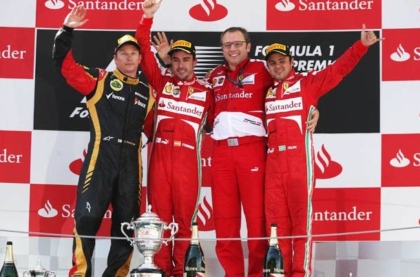 Fernando Alonso comes from 5th on the grid to claim victory-sadly no one cared...