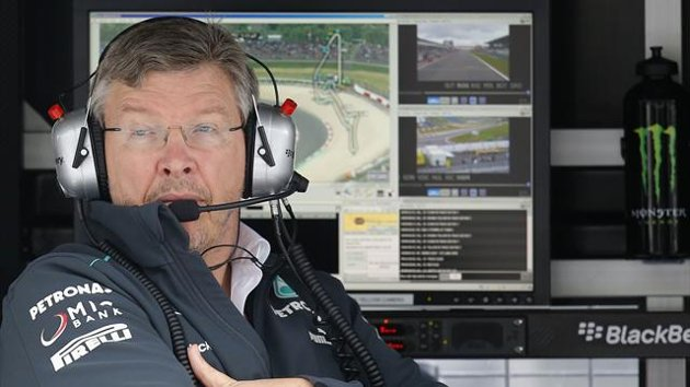 Ross Brawn has gone out on a limp to take sole responsibility for the secret test. ouch...