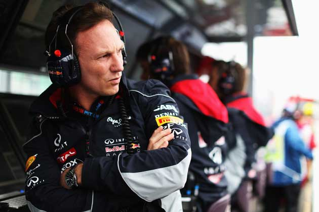 Christian Horner. I respect what you have accomplished at Red Bull, but stop complaining.