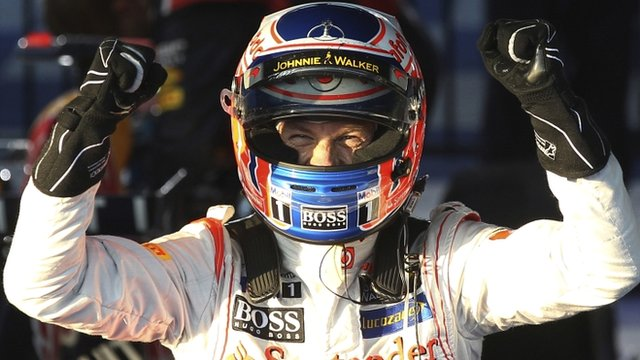Jenson Button has had nothing to smile about this year and Sergio Perez is not helping matters.