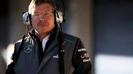 Ross Brawn a master strategist. from now own don't bet against him