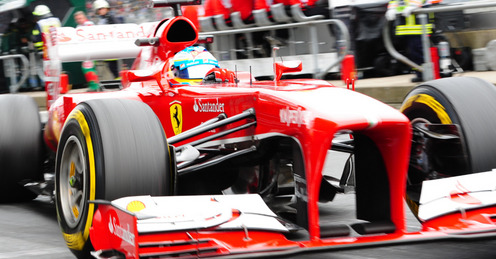 Fernando and the 2013 F138, in March it was a very fast car. Now not so much...