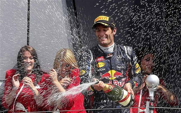 Mark Webber came from 15th to almost take the win. It was the drive of the day for me.