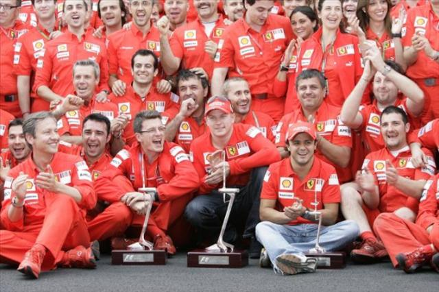 Not winning a championship at McLaren Raikkonen move to Ferrari which indeed yields the Finn a Drivers Title. But the duties at the Scuderia was not idea for a party animal. Raikkonen is bought out of his contract a year early to make way for Fernando Alonso.