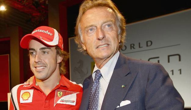 Luca di Montezemolo and his start driver and what was suppose to be Ferrari's next multiple champion. Where are the championships and Where are the smiles now?