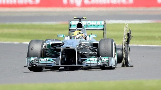Without the tire drama's for in Britian Hamilton probably would only be 23 points adrift of Vettel.