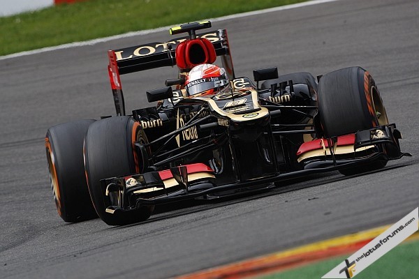 Kimi Raikkonen and Lotus were basically a no show and to make matters worse, a brake failure garaged Kimi's Lotus. His championships hopes are definately over, but I'm sure he had his mind on other things as you well know by now...