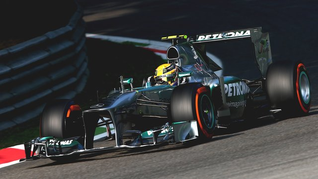 Lewis Hamilton looked like a rookie on Saturday damaging his floor in Q2 witch produced his worst Qualifing in 3 years. His race was not much better, a puncture put end to his hopes of a good result.