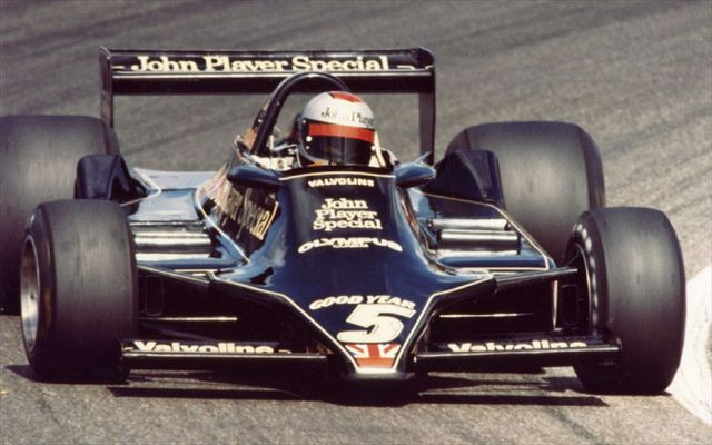 Here is Mario Andretti - America's last meaningful F1 driver. He was also a World Champ.       Back in 1978...
