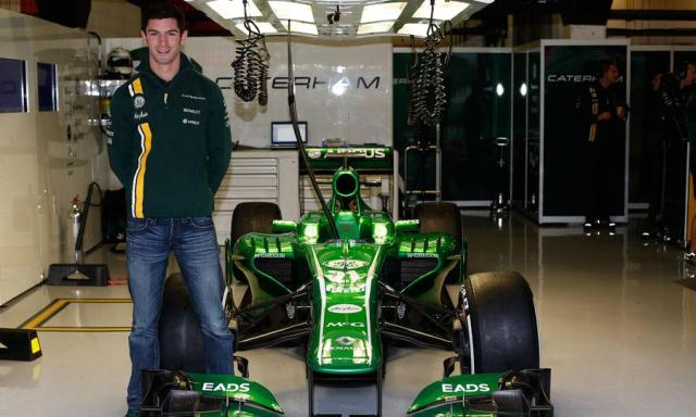 Alexander Rossi is a resevere driver for the Caterham F1Team. and America's next great hope. Time will only tell...