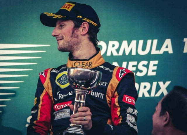 Roman Grosjean - Last year after Belgium and his shenanigans that took out Title leader Fernando Alonso and Lewis Hamilton, there were question marks. Now not so much.
