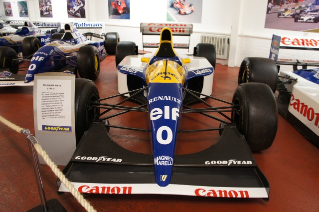 The Williams FW15C - What a beautiful car. This team and theirs cars dominated F1 in the early Eighty's. Williams is the second most successful constructor in F1 only behind Ferrari...