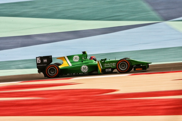 Rossi is currently a driver the Cateham's GP2 team. This is at Bahrain. That weekend yielded a the fourth quickest time in practice and a third place podium in race 1. Rossi definitely has the pace.