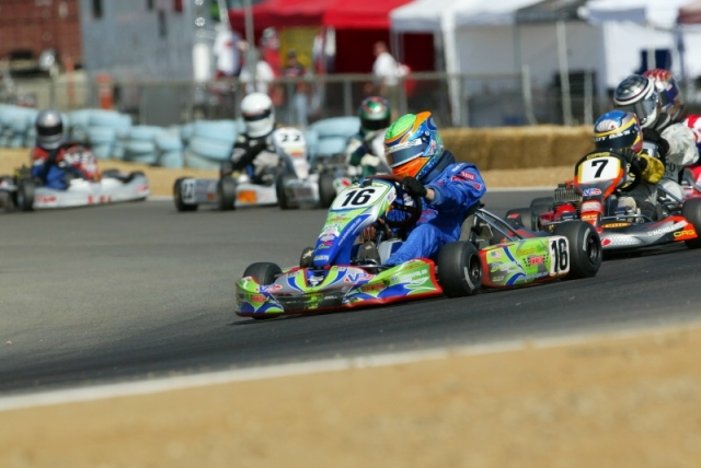 A very young Rossi learning the ins and outs of the racing line. Many youngster compete in karts but my guess is very few make it to the junior formula, even fewer make to to GP2 or something similar and then it is just down to 22 seats in F1.