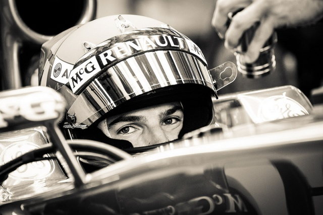 "The 2013 young drivers test. It was this same text a year prior that Rossi himself says the feeling was there. that he could genuinely compete at level of F1. This image of Rossi is one of my favorites. ""Clear Eyes Full Hearts"" come to mind."